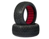 AKA Chain Link 1/8 Buggy Tires (2) (Medium - Long Wear)