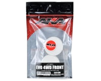 """Image 2 for AKA 12mm Hex """"EVO"""" 4WD Front Wheels (2) (22-4/D413) (White)"""