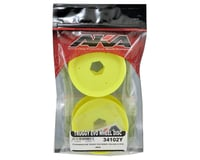 Image 3 for AKA EVO Truggy Wheel Stiffener (Yellow) (4)