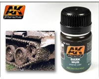 AK Interactive 35Ml Dark Mud Enamel Paint