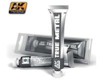 AK Interactive True Metal Wax Steel 20Ml Tube