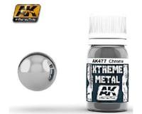 AK Interactive Xtreme Metal Chrome Metallic Paint 30Ml Bottle