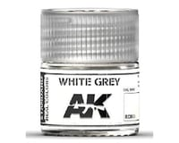AK Interactive Real Colors: White Grey Acrylic Lacquer Paint 10Ml