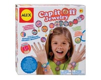 Alex Toys 757W Do-it-Yourself Wear! Cap It Off Jewelry