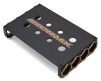 AM Arrowmax Black Golden 1/12 Pan Car & F1 Setup Frame/Car Stand