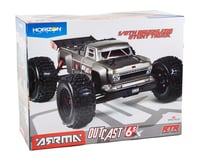 Image 6 for Arrma Outcast 6S BLX Brushless RTR Monster Stunt Truck (Silver) (V4)