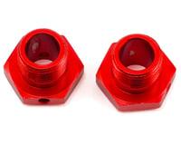 Arrma 13.6mm Aluminum Wheel Hex (Red)  (2)