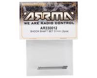 Image 2 for Arrma 51mm Rear Shock Shaft Set (2)