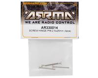 Image 2 for Arrma 2.5x25mm Screw Hinge Pin Set (2)