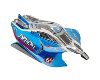 Body Blue Painted with Decals: Typhon 6S BLX (Arrma Misc. Arrma Parts)