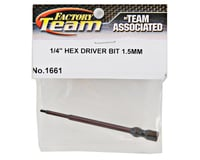 Team Associated Factory Team Hex Driver Bit (1.5mm)