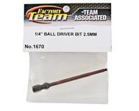 "Image 2 for Team Associated Factory Team Ball Hex Driver Bit (3/32"")"