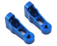 Team Associated SC10GT Factory Servo Mount (Blue) (2)