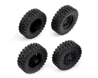 Team Associated CR28 MT28 Pre-Mounted Tires (4)