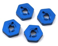 Team Associated Factory Team Reflex 14B/14T Aluminum Wheel Hexes (Blue) (4) | alsopurchased