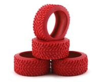Team Associated NanoSport Pin Tires (Red)