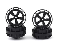 Team Associated NanoSport Wheels (Black) (4)
