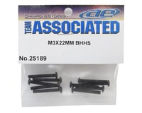 Image 2 for Team Associated 3x22mm Button Head Hex Screw (10)