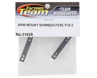 Image 2 for Team Associated TC6.2 Outer Arm Mount Shim Set (4) (1mm/0.5mm)