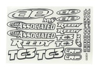 Team Associated Nitro TC3 Decal Sheet