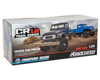 Image 7 for Team Associated CR12 Toyota FJ45 Truck RTR 1/12 4WD Rock Crawler (Blue)