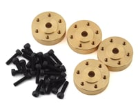 Element RC Factory Team Enduro Brass Beadlock Hex Adapters (4)