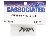 """Image 2 for Team Associated 4-40 x 1/4"""" Button Head Screw (6)"""