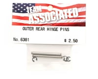 Image 2 for Team Associated Hinge Pin Rear Outer RC10