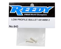 Image 2 for Reedy 4mm Low-Profile Bullet Connector (2)