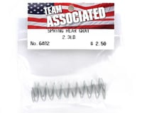 Image 2 for Team Associated Rear Buggy & Truck Shock Spring 2.33lb (Gray) (2)