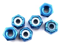 Team Associated 8/32 Aluminum Locknut (Blue Anodized) (6) | alsopurchased