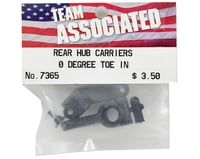 Image 2 for Team Associated 0° Rear Hub Carrier Set (2) (RC10T2/GT)