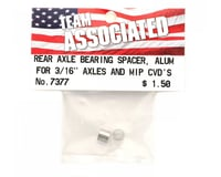 Image 2 for Team Associated Rear Axle Bearing Spacer T4/B4/GT (2)