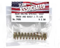Image 2 for Team Associated Rear Buggy & Truck Shock Spring 2.75lb (Gold) (2)