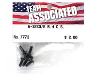 "Image 2 for Team Associated 6-32x3/8"" Button Head Screw (6)"