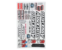 Team Associated RC8T3/RC8T3E Decal Sheet | relatedproducts