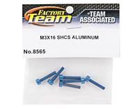 Image 2 for Team Associated Factory Team Aluminum 3x16mm Cap Head Screw (6)