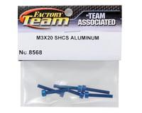 Image 2 for Team Associated Factory Team Aluminum 3x20mm Cap Head Screw (6)