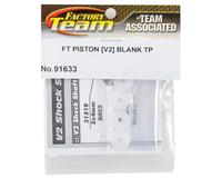 Image 2 for Team Associated Factory Team V2 Tapered Mount Shock Piston Set (Blank)(4)