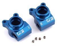 Team Associated RC10 B6.3D RC10B6.2 Factory Aluminum Rear Hubs (Blue)