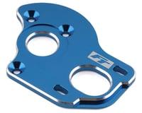 Team Associated RC10 T6.2 RC10B6.1 Factory Laydown/Layback 3.5mm Motor Plate (Blue)