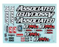 Team Associated RC10 B74.1/B74.1D Decal Sheet