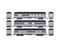 Athearn HO RTR Arch Roof Set, UP (3)