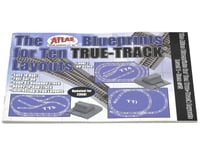 Atlas Railroad Blueprints for 10 True Layouts Book
