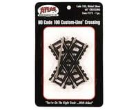 Atlas Railroad HO Code 100 60-Degree Custom Crossing | relatedproducts