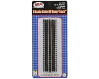 """Image 2 for Atlas Railroad N-Scale Code 80 5"""" Straight Track (6) (Nickel Silver)"""