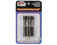 Image 2 for Atlas Railroad N-Gauge Code 80 Snap-Track Straight Assortment (10)