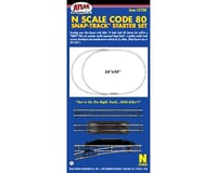 N Code 80 Snap-Track Starter Set (24)