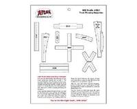 Atlas Railroad HO Track Planning Templates