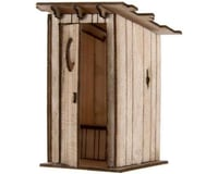 Atlas Railroad HO Laser Cut KIT Outhouse